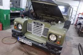 "Land Rover Seria III ""88"" Military"